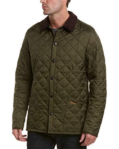 Barbour Herren Heritage Liddesdale Quilted Jacket Olive L