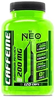 CAFEINE 120 caps  complements alimentaires supplements alimentaires NEO PRO-LINE