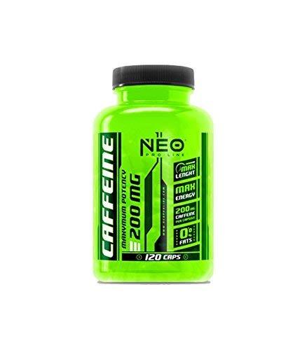 CAFFEINE 120 Caps. - Suplementos Alimentación y Suplementos Deportivos - NEO PRO-LINE