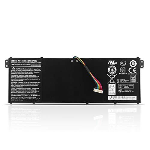 K KYUER AC14B18J AC14B8K Batería para Acer Aspire R5-471T R7-372T R3-131T R7-371T E5-721 E5-731 E5-771G ES1-711 E3-112 ES1-111M A515-41G A515-51G A515-52G A517-51G A517-51GP A615-51G A715-71G A717-72G