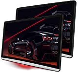 DEYBON Car Tablet XLarge 13.3 inch Android 9.0 Headrest Video Players with WiFi, Sync Screen Tablets Car Back Seat TV Monitors, IPS Touchscreen 4K, Play Movies YouTube Netflix, 2G+16G (Dual Packs)