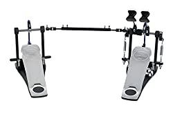 commercial Double kick drum pedal PDP with DW concept direct drive with long footrest bass drum pedals