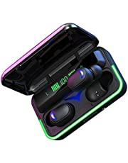 TWS Bluetooth 5.1 Wireless Earbuds, Wireless Headphone 8D Stereo Sports Earbuds Headsets With Microphone Earphones Charging Box