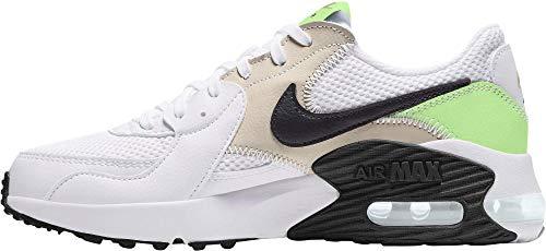 Nike Air MAX Excee, Zapatillas para Caminar para Mujer, White Black Barely Volt Lt Ore, 35.5 EU