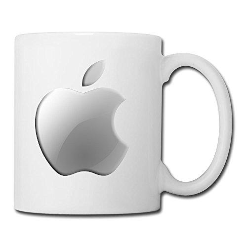 Personalized White Apple Logo Colorful Office Mug(Teetassen/Kaffeetassen) - 11oz