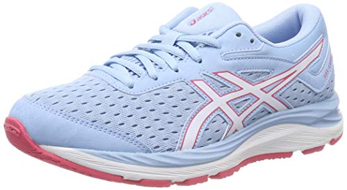 Asics Gel-Cumulus 20 GS, Zapatillas de Running Unisex Adulto, Azul (Skylight/White 402), 39.5 EU