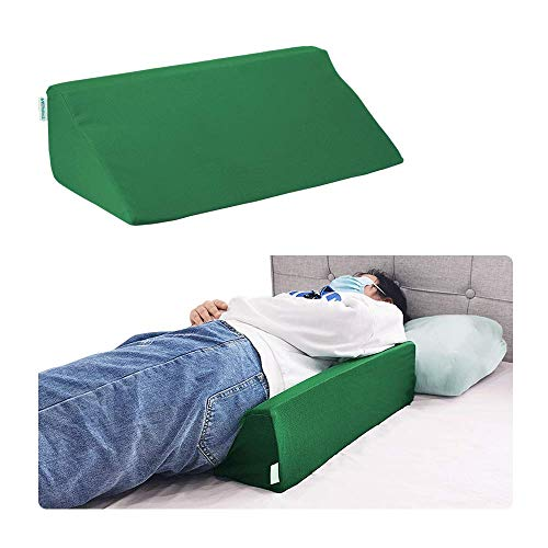 Pillow Wedge for Sleeping Foam Incline Pillow Bed Positioning Wedge for Adults Side Sleeper Pregnancy Belly Back