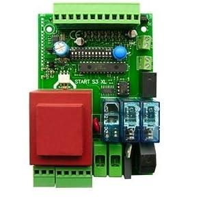 Nologo-S3XL-Start-Placa-central-universal-para-puerta-corredera-puertas-basculantes-y-cerraduras-Compatible-con-todas-las-marcas-230-Vac-Came-FAAC-FADINI-BENINCA-negro