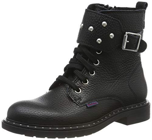 Richter Kinderschuhe Damen Piac Combat Boots, Schwarz (Black 9900), 39 EU