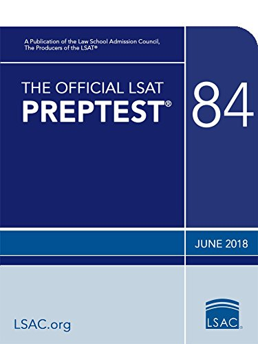 The Official LSAT PrepTest 84: (June 2018 LSAT)