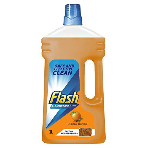 Flash Mandarin and Cedarwood Multi-Surface Cleaning Liquid, 1L