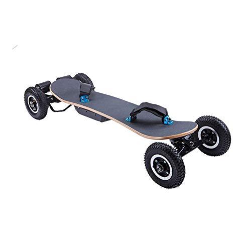 ARQANJ- Offroad Skateboard Cruiser Extremsport Longboard Dual-Drive Intelligente Fernbedienung 1200W Leistung 8 Zoll Großreifen Elektrisches Allrad Skateboard 40km / h