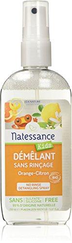 Natessance Démêlant en Pschitt Orange-Citron sans Rinçage - Bio - 150 ml