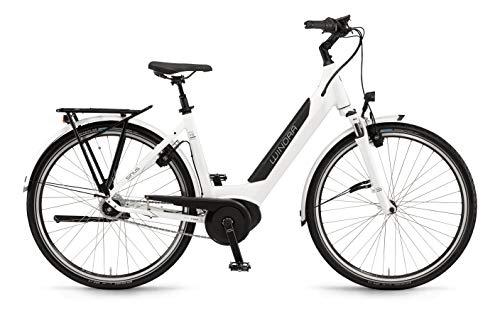 Winora Sinus iN8F 500 Unisex Pedelec E-Bike Trekking Fahrrad weiß 2019: Größe: 46cm