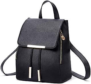 Women Backpack School Bags for Teenagers Shoulder Bag Vintage Back Pack Backpacks PU Tote