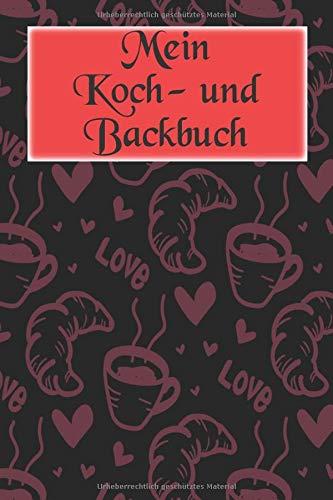 Mein Koch- und Backbuch: Für Brotliebhaber, Bäcker, Köche | Professionelles Rezeptbuch | Handwerklicher Brotbäcker | 6x9 Zoll | 120 Seiten Selbstausfüllbares Notizbuch | Brot auf Brot