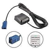Antenna GPS per auto Antenna FAKRA Cavo connettore maschio Antenna Ricevitore Trasmettitore Base magnetica per auto Navigazione DVD GPS