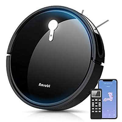 Robot Vacuum Cleaner,Automatic Self-Charging Robot Vacuum and Mop, Smart Mapping,1800Pa Strong Suction, APP Control & Remote Control,Ideal for Pet Hair, Hard Floor and Low Pile Carpet