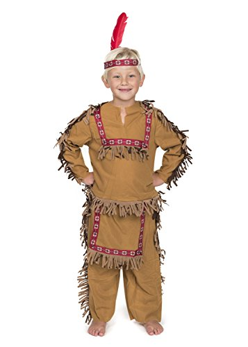 Kidcostumes.com Indian Boy (SM 4-6)