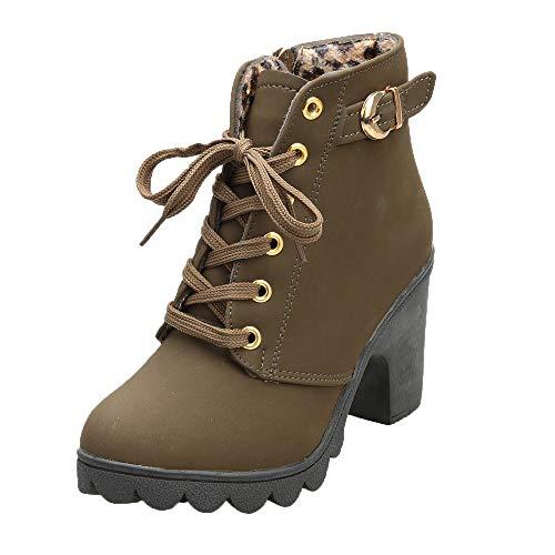 ESAILQ Kleider Damen Chelsea Rain Boot Gummistiefel Kurzschaft Ankle Stiefeletten Gummistiefeletten Regenstiefel
