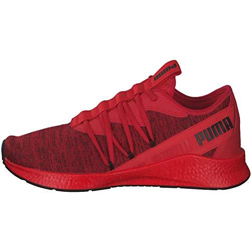 Puma NRGY Star MultiKnit, Zapatillas de Running Unisex Adulto, Red, 42 EU