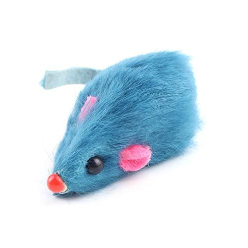 Monllack Funny Animal Sounds Gummireifen-Form Hund Spielzeug Welpen-Katze kaut quietschende Gummi Spielzeug Quietschende 8 * 4cm Reifen Pet Toys