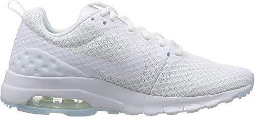 Nike Damen Air Max Motion Low Laufschuhe, Weiß (White / White), 40 EU