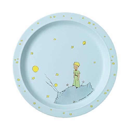 Petit Jour Paris - PP905P - Assiette bébé Le Petit Prince 21 cm - Adaptée aux tout petits Bleu