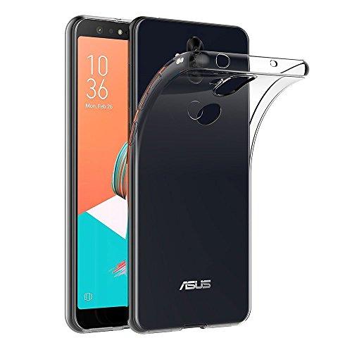 MaiJin Funda para ASUS ZenFone 5 Lite ZC600KL (6 Pulgadas) Resistente a arañazos TPU Cubierta de Delgada Capa de Silicona en la Parte Posterior