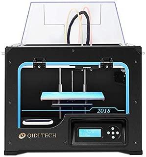 QIDI TECHNOLOGY Dual Extruder Desktop 3D Printer QIDI TECH I, Fully Metal Frame Structure,W/2 Free Filament