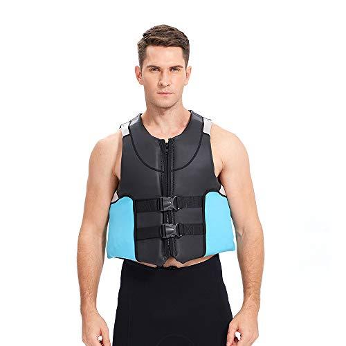 Schwimmhilfe, Weste Für Kinder Bis 50 Kg, Nylon Wasserski Wakeboard Für Erwachsene Und Jugendliche,XL
