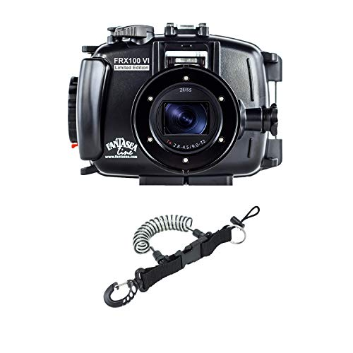 Fantasea Line FRX100 VI Limited Edition for Sony RX100 VI with DiveCatalog's Coil Lanyard