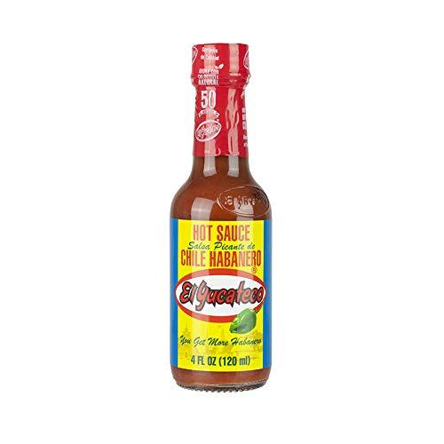 El Yucateco Red Habanero Hot Sauce 120ml