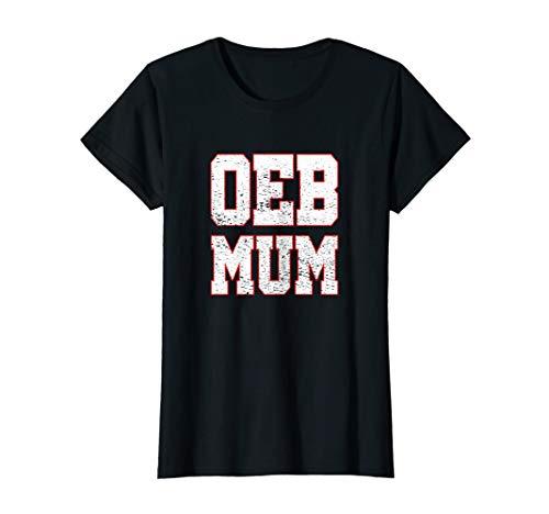 Damen Old English Bulldog Mum T Shirt OEB Mama Geschenk Bulldogge