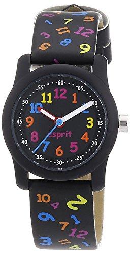 Esprit Kinder Analog Quarz Smart Watch Armbanduhr mit Lederimitat Armband ES000FA4028