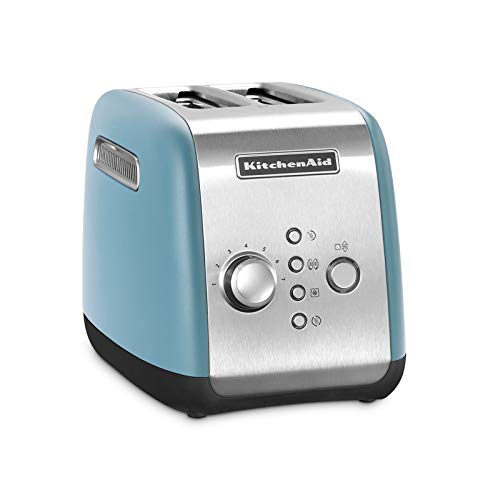 KitchenAid 5KMT221EVB - Tostadora (2 tostadas, 1.100 W), color azul