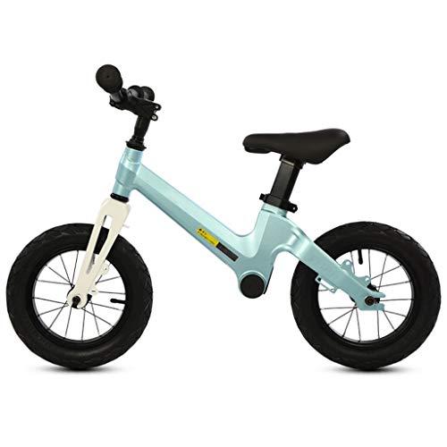 UNU_YAN Kinder Gleichgewicht Fahrrad-Roller, Junge Fahrrad, 2-6 Jahre altes Mädchen Spaziergänger Scooter Kinder Fahrrad, kein Pedal- (Color : Green)