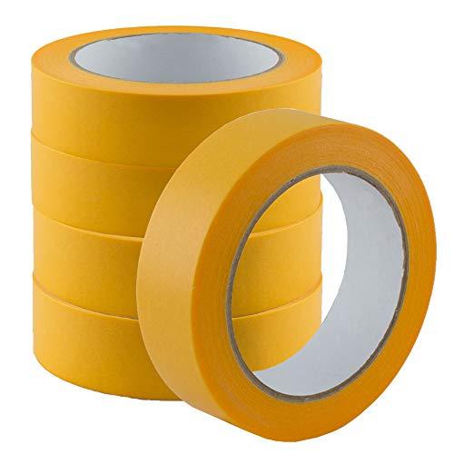 5er Pack Goldband Abdeckband Klebeband Kreppband 30mm x 50m