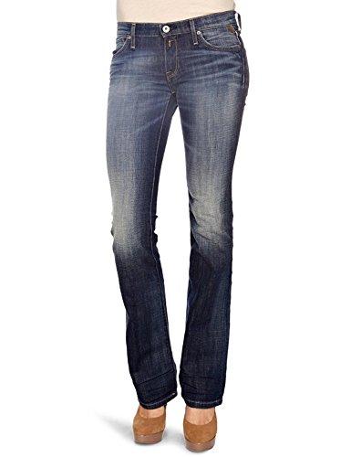 Replay Rockxanne, Damen Jeans Hose WV521C .369 931 Blau (009) W28/L34