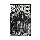 Ramones Rock Band Leinwand Poster Schlafzimmer Dekor Sport
