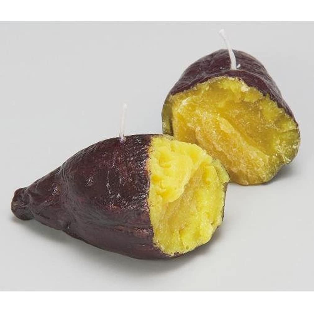 コロニー絶縁するドラフト焼き芋キャンドル
