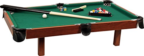 Buffalo.nl Kinder Mini Pooltisch Explorer de Luxe, Bunt, M