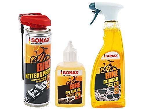 Sonax Bike limpiador bicicleta Limpiador E-Bike limpiador de + cadena spray &...