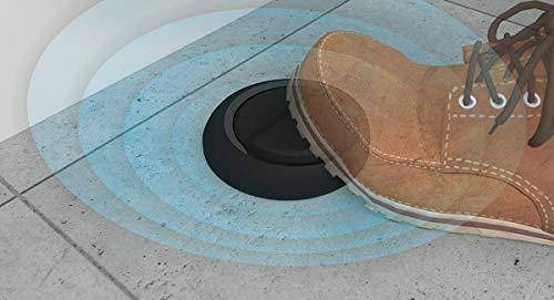 NodOn CFS-2-1-05 interruptor de suelo, Negro