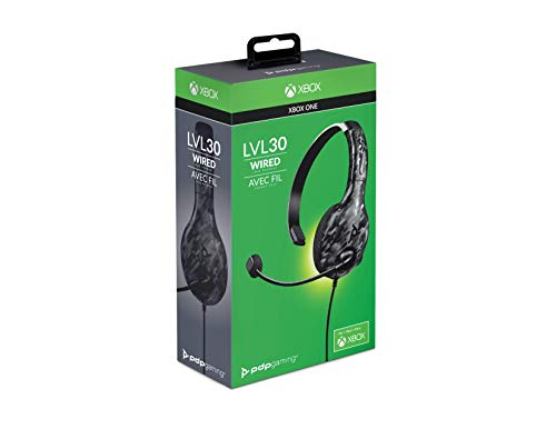 LVL30 Chat Headset XBO Black Camo