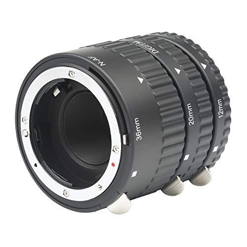 SHOOT Extension Tube Auto Focus Set Macro for Nikon AF AF-S DX FX SLR Cameras
