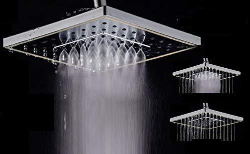 Aquieen Wall Mounted Overhead Shower 8 x 8' (Mist & Rain)