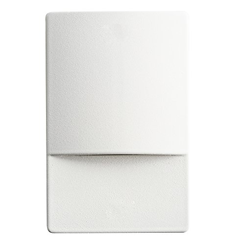 Kichler 12676WH Landscape Step, 4 Light LED 5.36 Total Watts, White