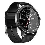 HW21 orologio intelligente unisex, IP67 impermeabile monitoraggio del movimento, allarme push informazioni, controllo della fotocamera musica (nero)