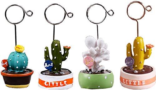 Estatua, número de Mesa para Ella, Mini Estatua de bonsái de Resina, Tarjeta de Lugar, Clip de números de Mesa para Boda, cumpleaños, decoración PY